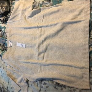 NWT gap beige sweater type blouse